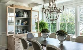 height to hang chandelier above dining table wooden beaded