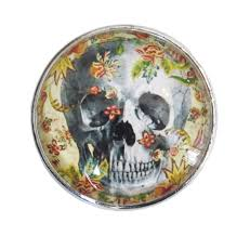 glass knobs for kitchen cabinets skull flowers glass knob with metal base for dresser drawers