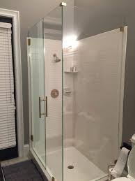 Shower Door Stop Shower Clear Shower Door Sweep Seal Seals And Wipes Clean Doors