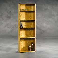 Sauder Furniture Bookcase Sauder 5 Shelf Bookcase Oak Boscov S