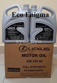 lexus used in uae sell lexus genuine engine oil
