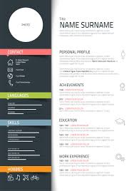 Creative Resume Designs Resume Cool Resume Designs