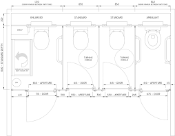 size of toilet standard toilet cubicle sizes cubicle systems