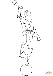 angel moroni coloring page free printable coloring pages