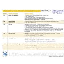 lesson plan template swimming lesson plan for swim 202