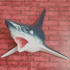 aliexpress buy unique great white shark sculpture wall