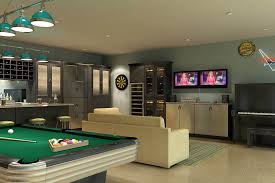 garage marvelous garage man cave ideas garage man cave floor garage brushed aluminum doors with black glass inserts make up the classy built in wine