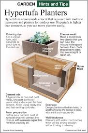 How To Make Planter Boxes by Hypertufa Planters I Would Like Some Tall And Relatively Skinny