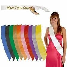 custom sash custom sash personalized sash prom sash bachelorette