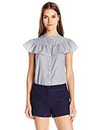 frilly blouse amazon com the ruffled blouse clothing shoes jewelry