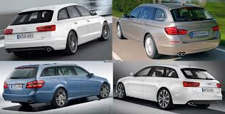 photo comparison bmw 5 series touring vs mercedes e class estate
