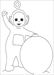 teletubbies drawings coloring child coloring