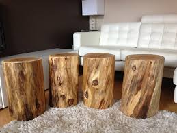 tree trunk end table serenity stumps cutting boards