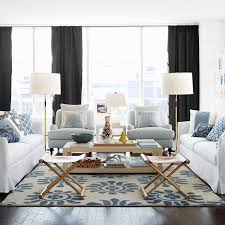 blue and white living room decorating ideas best home design