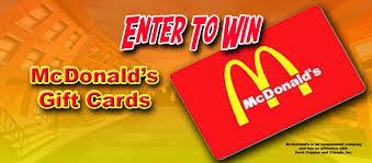 mcdonalds gift card discount mcdonalds gift card 2015
