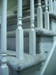 Replace Stair Banister Need Advice Replace Carpet Around Banisters With Wood