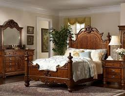 Victorian Bed Set by Bedroom Formal Victorian Bedroom Style Using Dark Brown Wooden Bed