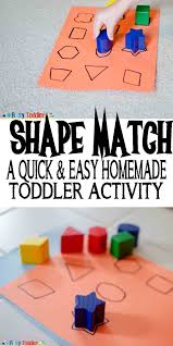 shape match busy toddler