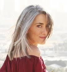 what enhances grey hair round the face silver fox hair styles for medium texture wavy hair bellatory