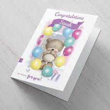 hugs personalised congratulations card so happy for you card