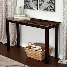 console table behind sofa against wall sofa tables behind sofa palazzo faux marble console table sofa table
