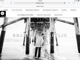 wedding registry websites my wedding website it girl weddings