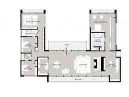 U Shaped House Plans With Pool In Middle Best 25 U Shaped Houses Ideas On Pinterest U Shaped House Plans