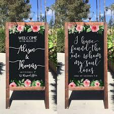 wedding chalkboard top 10 best wedding welcome signs