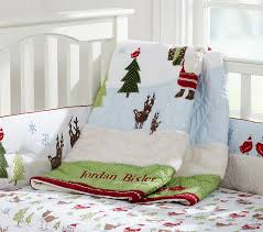 Pottery Barn Kids Baby Bedding Winter Wonderland Nursery Bedding Pottery Barn Kids