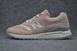light pink mens shoes top quality new balance ml997hag quality leather running shoes light