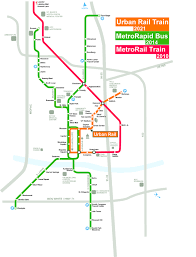 Metro Rail Map by Austin Urban Rail In 7 Maps Kut