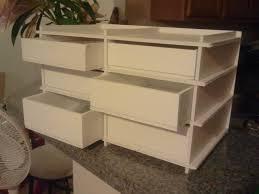 mini 6 drawer foam core foam board foamboard drawer cabinet foam