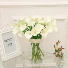 Calla Lily Home Decor by Popular Fake Calla Lily Flowers Buy Cheap Fake Calla Lily Flowers