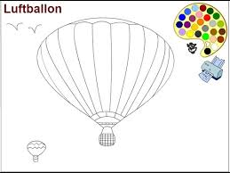 balloon coloring pages air balloon coloring pages for kids air balloon coloring