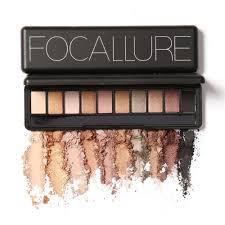 brand fashion 10 colors shimmer matte eye shadow makeup palette