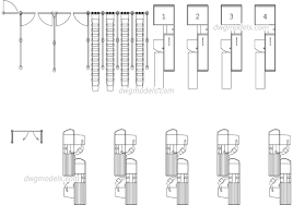 Stair Cad Block by Checkout Counter 1 Dwg Free Cad Blocks Download