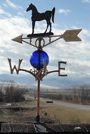 decorative lightning rods weathervanes and glass balls