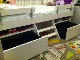 Bed With Drawers Underneath Simple Toddler Bed With Drawers To Save Space In Your Children