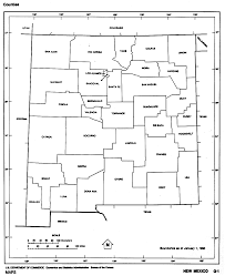 new mexico outline maps and map links