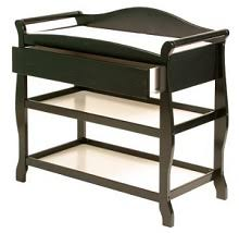Sleigh Style Changing Table Shop Nursery Changing Tables In Black Changing Tables