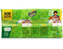 Vanity Fair Dinner Napkins Boxed Com Bounty Quilted Napkins 800 Count