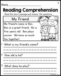 9 best worksheets images on pinterest reading comprehension