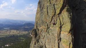 colorado camping on the side of estes park cliff cnn travel