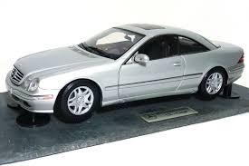 lexus gs430 autoart rare autoart mercedes benz cl500 coupe granite base dealer ed 1 18