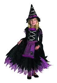 Halloween Costumes 6 Girls Amazon Disguise Girls Fairytale Toddler Witch Costume Clothing