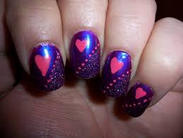 purple nail art design image collections nail art designs
