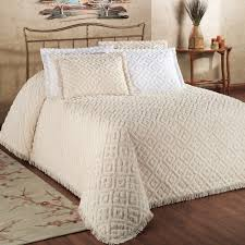cotton chenille bedspread bedding