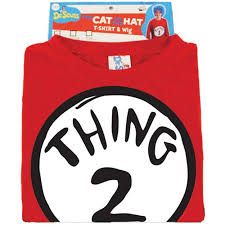 1 2 Halloween Costume Dr Seuss 2 Halloween Costume Walmart