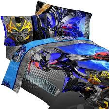 Transformer Bed Set Transformers Bedding Set Optimus Prime Machines
