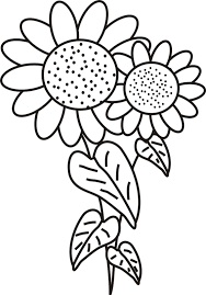 flower coloring pages funny coloring
